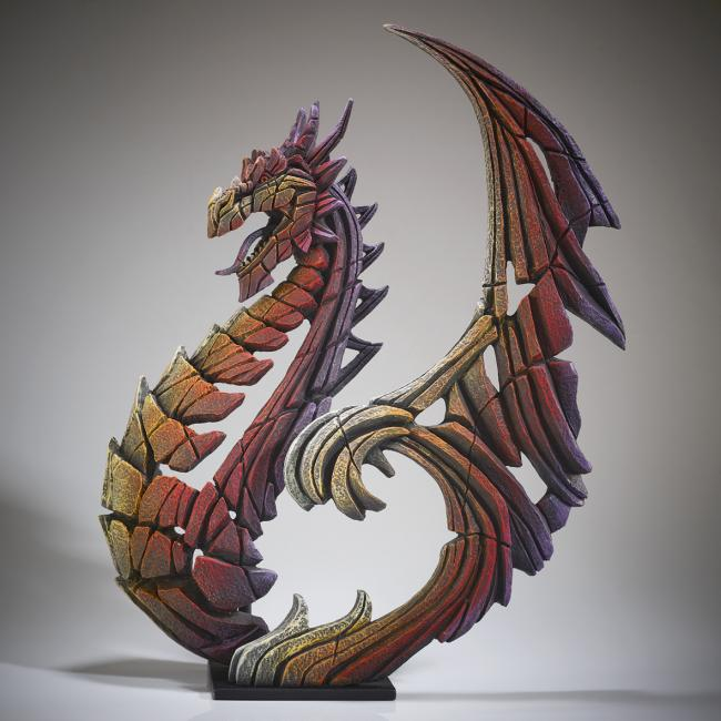 Brimstone Dragonby Edge Sculptures by Matt Buckley