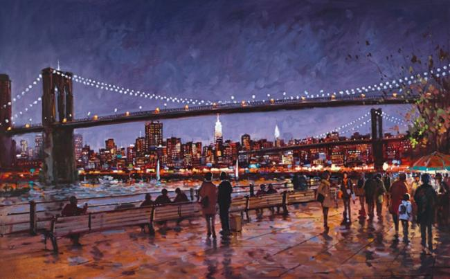 Brooklyn Bridge by Henderson Cisz