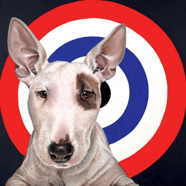 Bulls Eye - Canvas by Hayley Goodhead