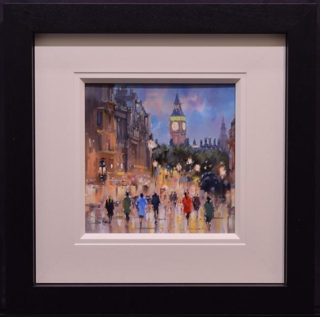 Bustling City I by Allan Morgan