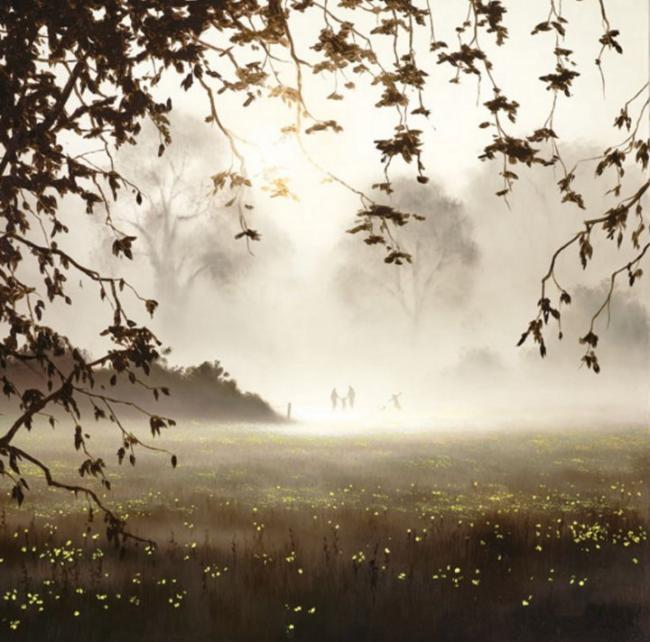 Buttercup Walk by John Waterhouse
