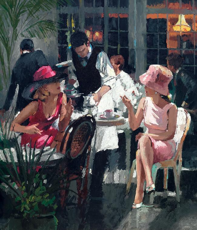 Cafe Royal by Sherree Valentine Daines
