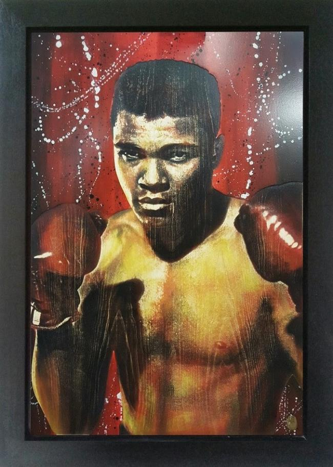 Cassius Clay by Rob Bishop