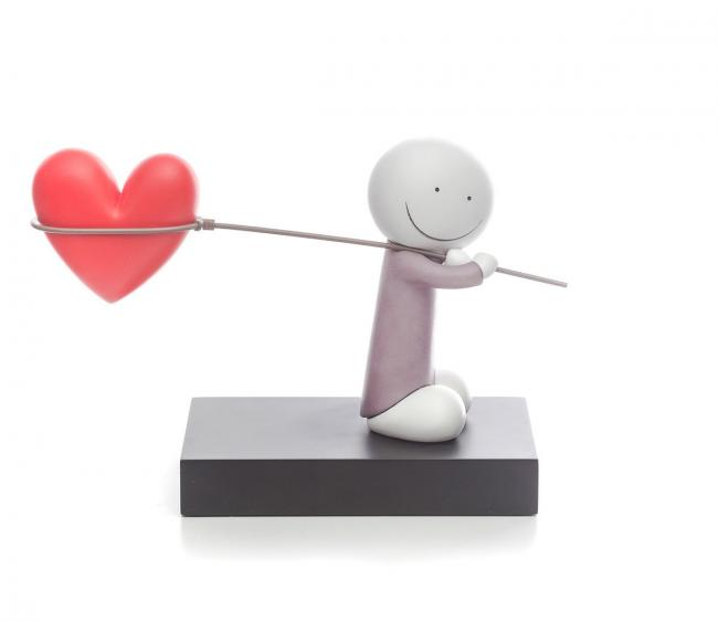 Caught Up In Love- Sculpture by Doug Hyde