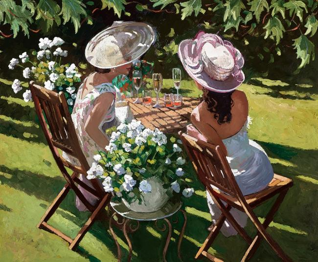 Champagne Celebrations by Sherree Valentine Daines
