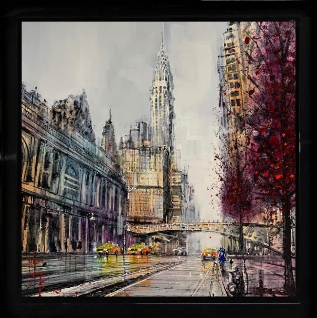 Chrysler Heights by Nigel Cooke