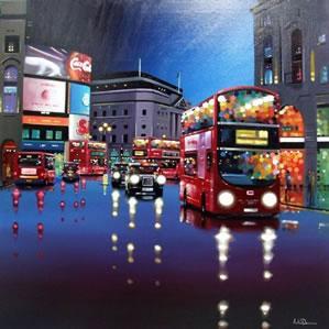 City Bustle (Original) by Neil Dawson