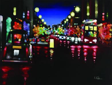 City Lights by Neil Dawson