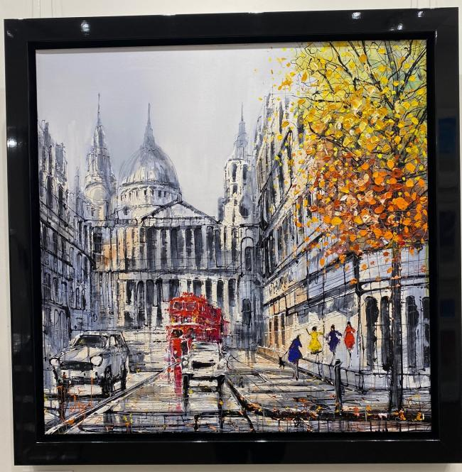 City Rush by Nigel Cooke