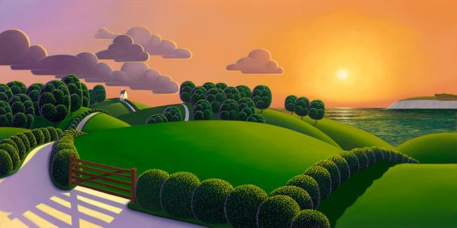Closing of The Day by Paul Corfield