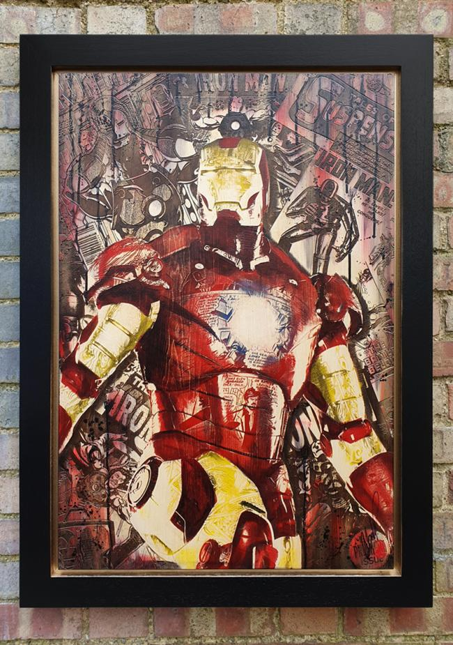 Comic On Stark by Rob Bishop