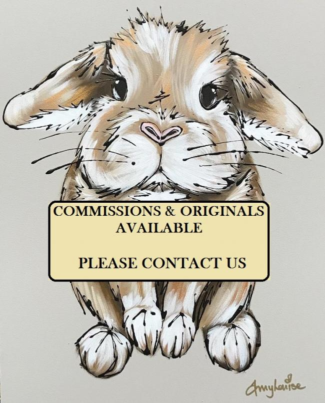 Commissions & Originals by Amy Louise