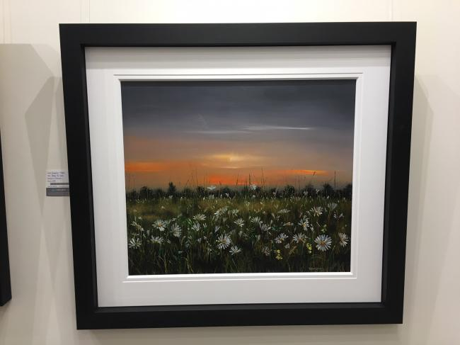 Daisies By Dusk by Kimberley Harris