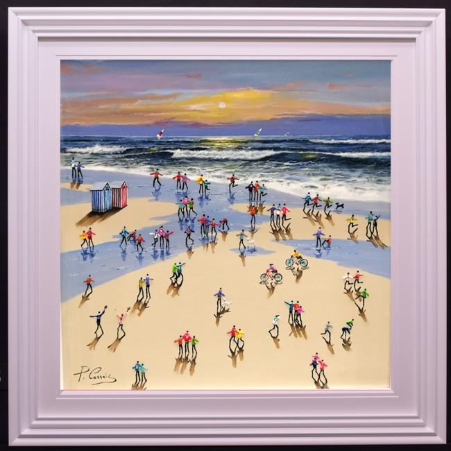 Day at The Beach I by Paola Cassais