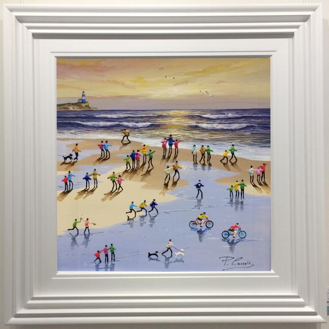 Day At The Beach ii by Paola Cassais