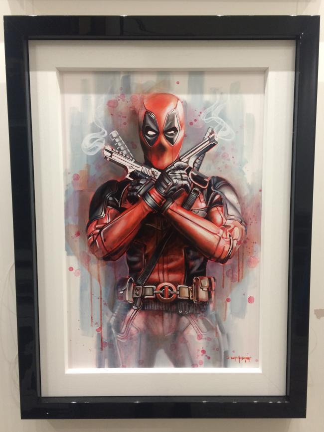 Deadpool by Ben Jeffery