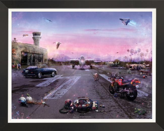 Destination Unknown (Top Gun) by Mark Davies