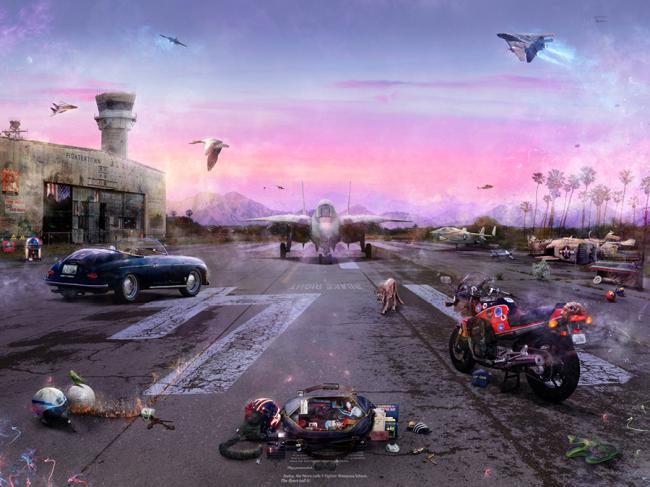 Destination Unkown (Top Gun Large) by Mark Davies