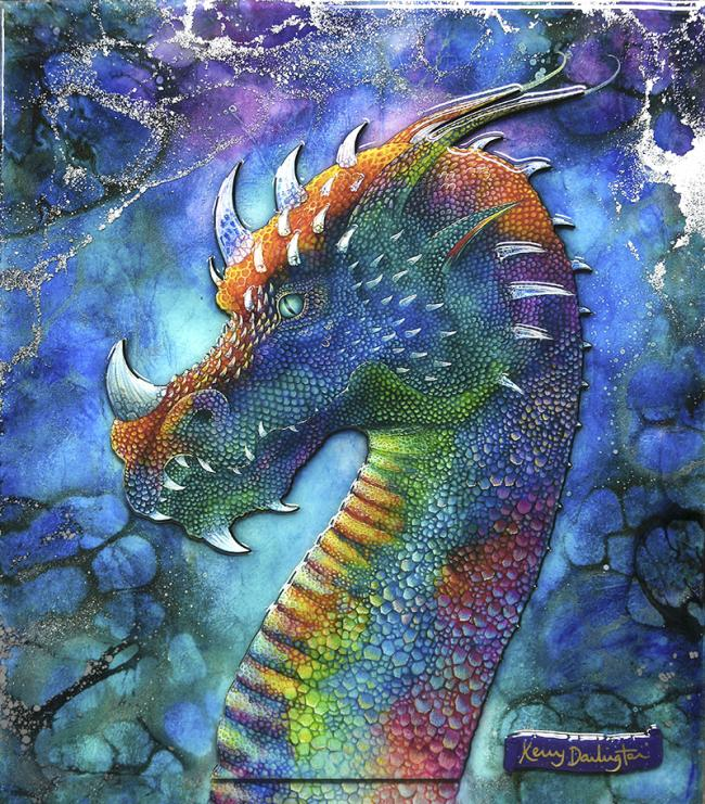 Dragon of Hidden Treasures by Kerry Darlington