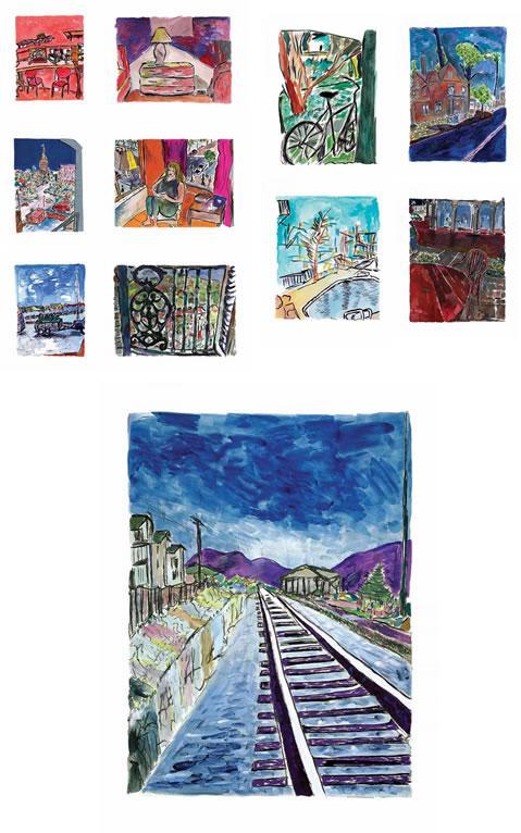 Drawn Blank Series 2013 by Bob Dylan