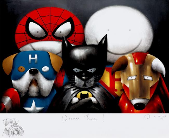 Dream Team Remarque by Doug Hyde