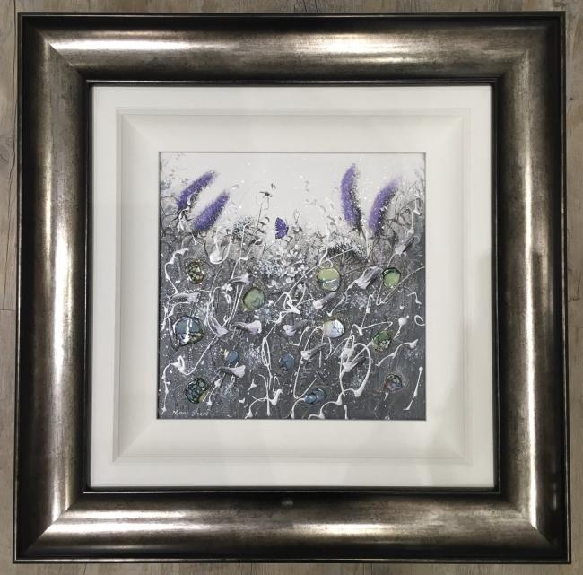 Dusk Flowers I by Mary Shaw