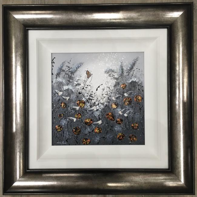 Dusk Flowers II by Mary Shaw