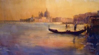 Dusk Over Venice by Cecil Rice