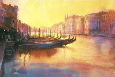 Early Evening Rialto by Cecil Rice