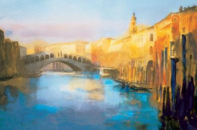 Early Morning Rialto by Cecil Rice