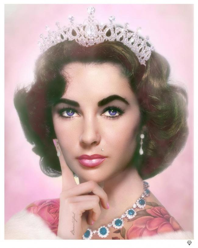 Elizabeth Taylor by JJ Adams