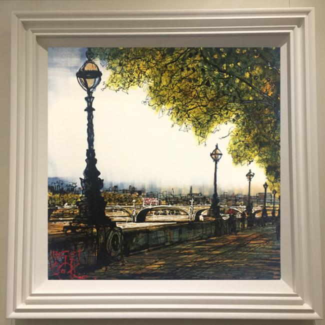Embankment by Nigel Cooke