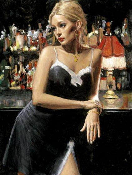 English Rose VII by Fabian Perez