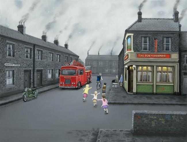False Alarm - Canvas by Leigh Lambert