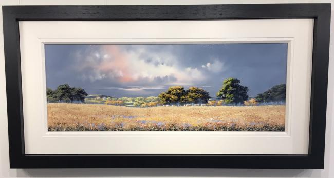 Field of Barley by Allan Morgan