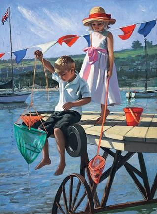 Fishing From The Jettyby Sherree Valentine Daines