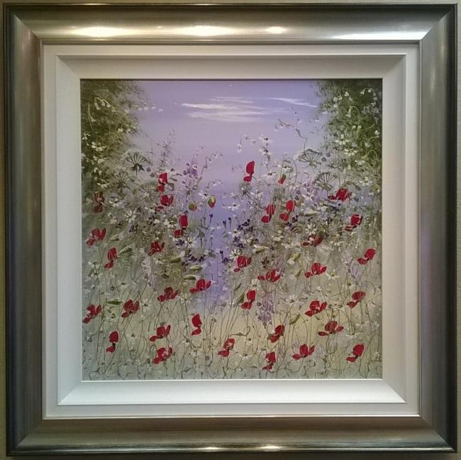 Floral Burst I by Mary Shaw