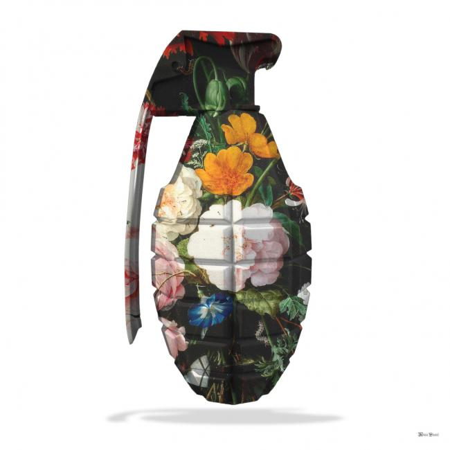 Floral Grenade- Small by Monica Vincent