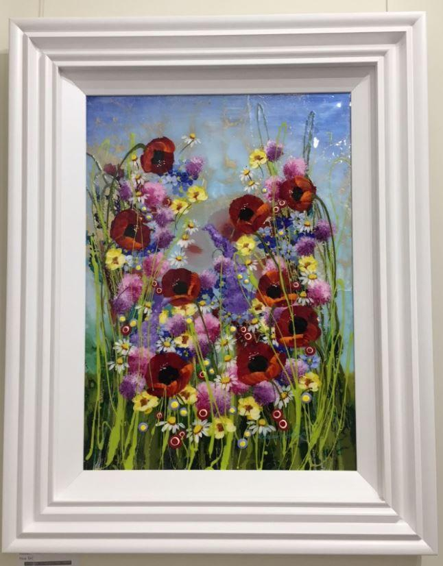 Floral Passion I by Roz Bell