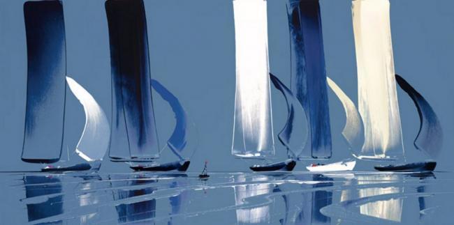 Flying Sails III by Duncan MacGregor