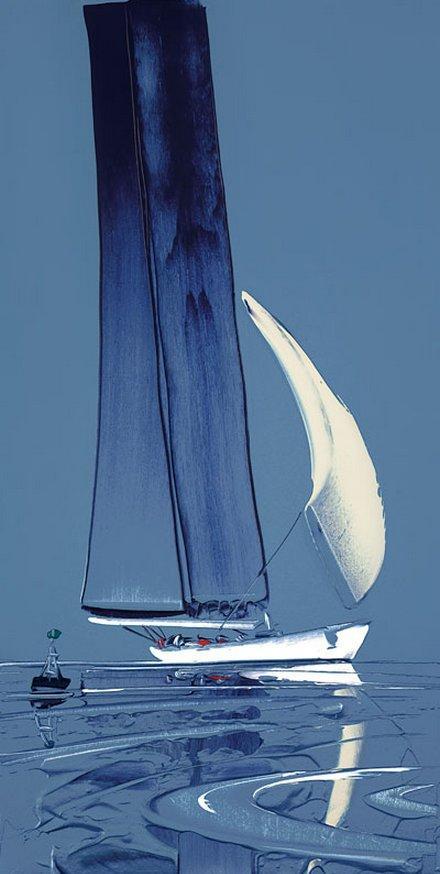 Flying Sails I by Duncan MacGregor