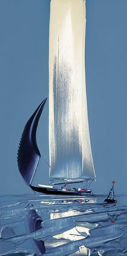Flying Sails II by Duncan MacGregor