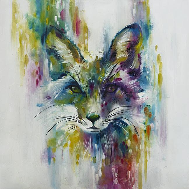 Fox - Chase (Large) by Katy Jade Dobson