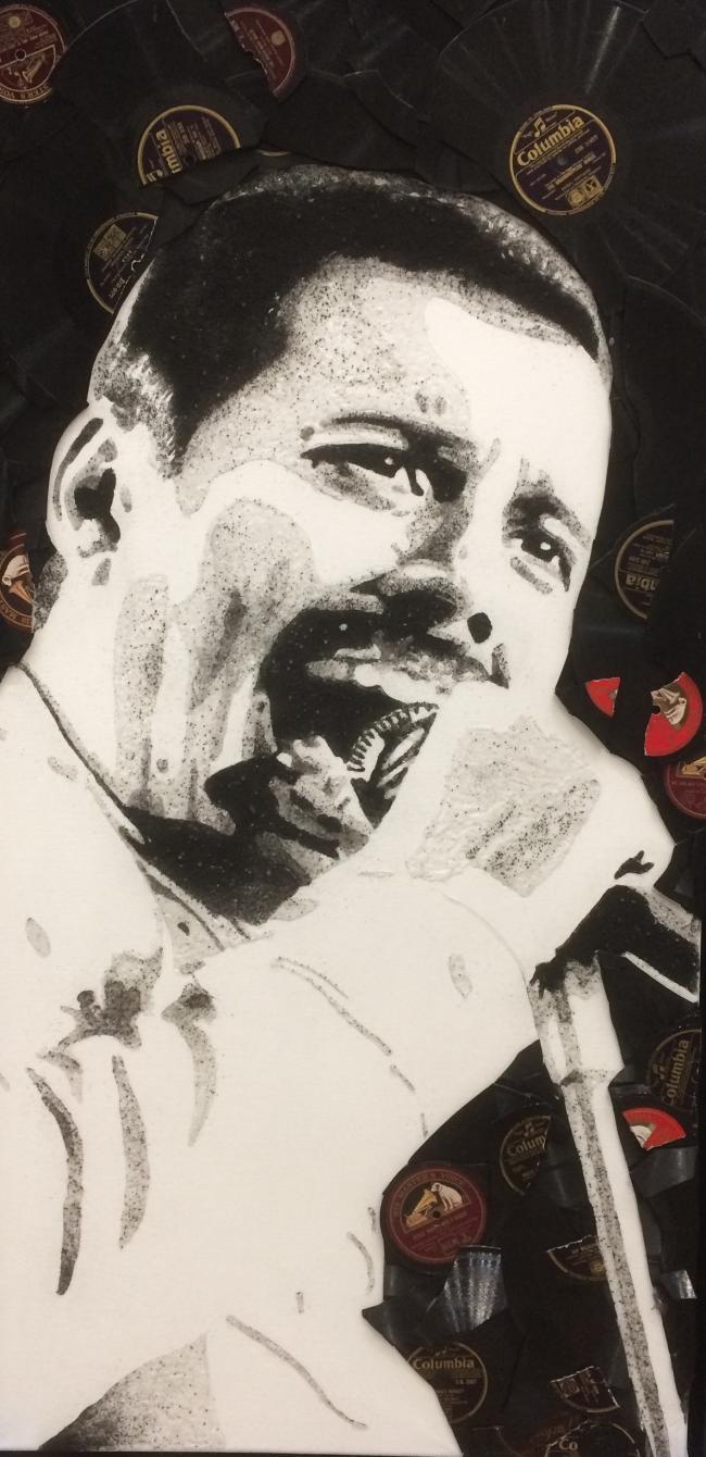 Freddie Mercury by Ben Riley