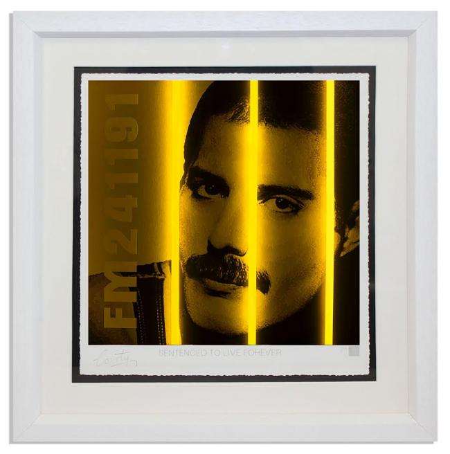 Freddie Mercury - Life Series by Courty