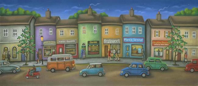 Friday Street by Paul Horton