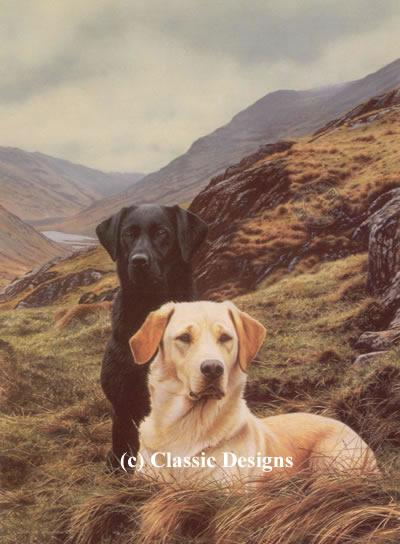 Friends - Labradors by Steven Townsend