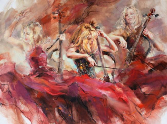 Golden Chord by Anna Razumovskaya