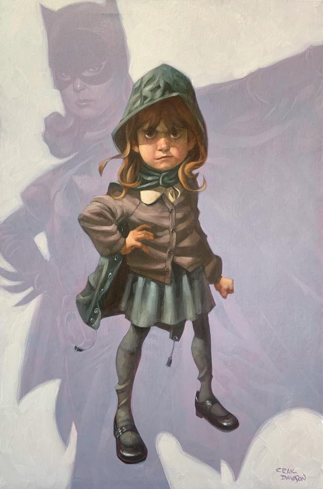 Gotham Girl by Craig Davison