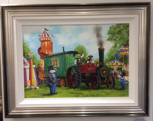 Grand Steam Rally by Dale Bowen